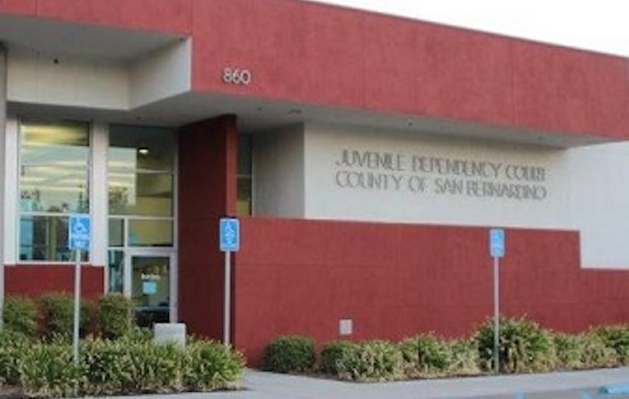 San Bernardino Juvenile Dependency courthouse